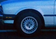 E30 3-Series (except the convertible) Front Fender