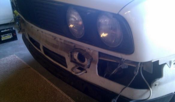E30 1991 Convertible front bumper area